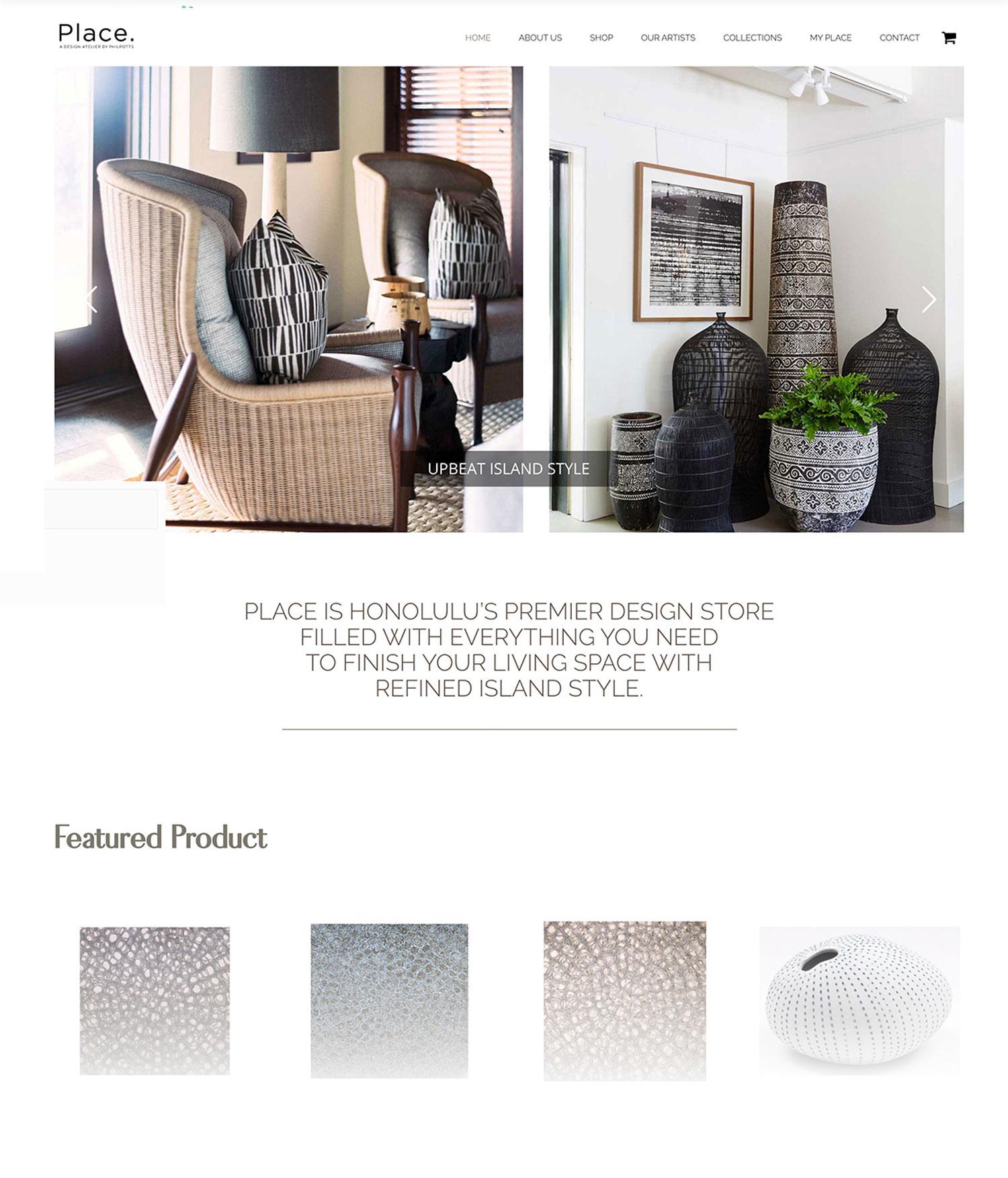 Interior Design Online Store